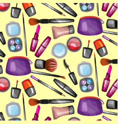 Pattern with cosmetic vector
