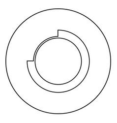Techno circle modern infographic concept abstract vector