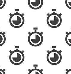 timer seamless pattern vector image