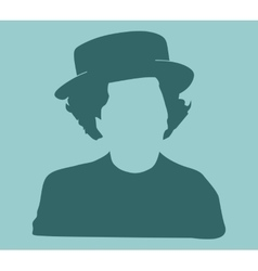 Woman Style Silhouette Portrait vector