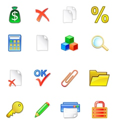 www accountant icons vector image