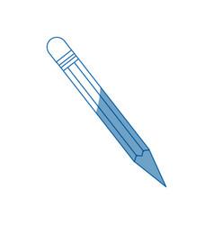 wooden pencil idea creativity supply school vector image