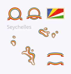 Colors of Seychelles vector image vector image