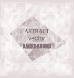 abstract geometric web background vector image