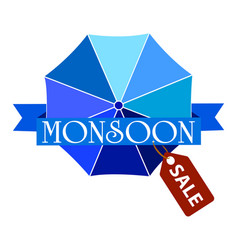 Abstract monsoon sale vector