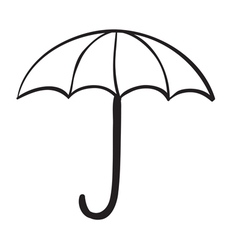 an umbrella vector image