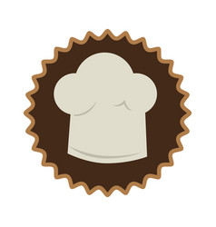 Bakery shop emblem icon vector