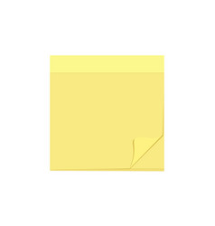 Blank comment message note paper sheet task icon vector
