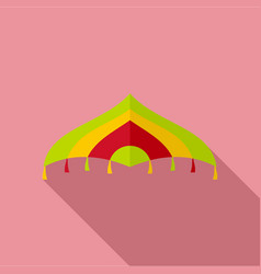 flying kite icon flat style vector image