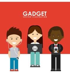 Gadgets tech vector