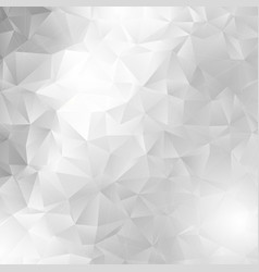 Monochrome low poly design vector