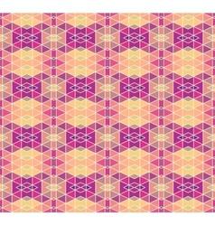Mosaic geometric pattern vector image