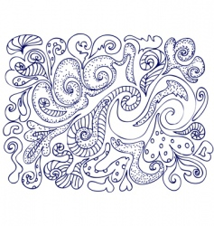 Pattern ink vector