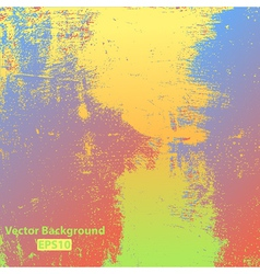 Colorful Grunge Texture vector image