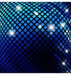 Dark blue mosaic vector image