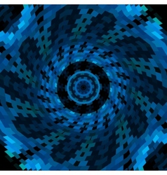 swirl of blue color vector image