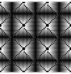 Seamless checked texture vector image vector image
