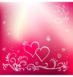 Valentine's Day graphics vector image vector image