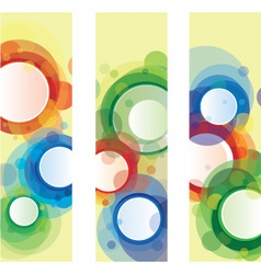 arrtistic banners vector image