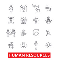 human resources people hiring employee hr vector image