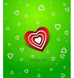 love backgriund vector image