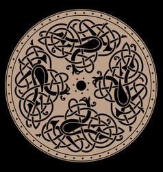 ancient celtic mythological symbol bird celtic vector image