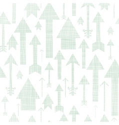 Arrows flying up textile textured seamless pattern vector image