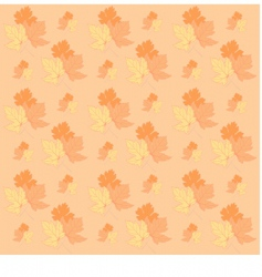 autumn leafs texture vector image