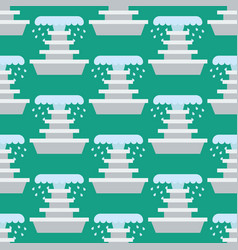 fountain seamless pattern vector image