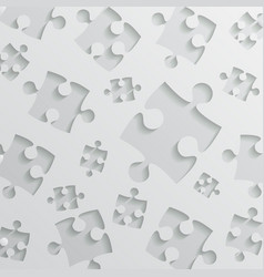 Grey background puzzle jigsaw puzzle vector