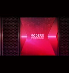 light pink design with dark mesh frames and pink vector image