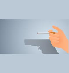 may 31st world no tobacco day banner design vector image