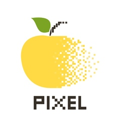 Pixel apple2 vector