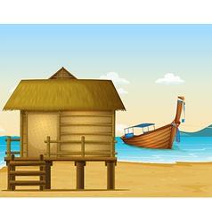 Thailand beach vector image