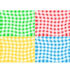 tablecloth patterns vector image