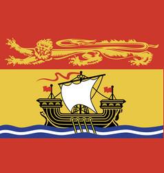 brunswick flag vector image