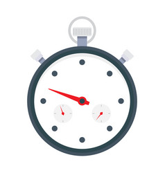 stopwatch for sports icon vector image