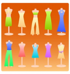 dress vector image vector image