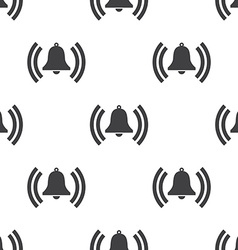 bell seamless pattern vector image