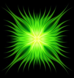 Gotik faire Green 01 vector