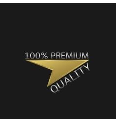 Premium quality label vector