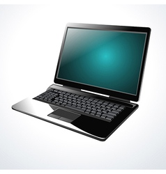 Laptop Computer vector image vector image