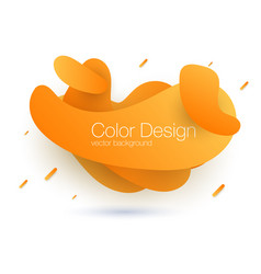 abstract blend background template for web site vector image