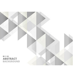 abstract of gray square geometric pattern vector image