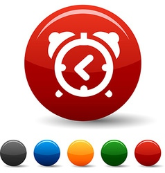 Alarm-clock icons vector