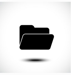 file or folder icon vector image