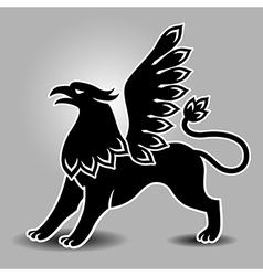Griffin stand vector