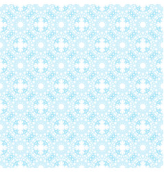 seamless blue abstract geometric pattern with vector image