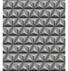 Tripartite pyramid gray seamless texture vector