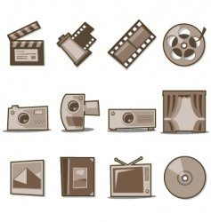 universal icons fresh collection vector image